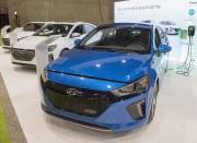 La Hyundai Ioniq lors du salon de l'auto... - image 7.0