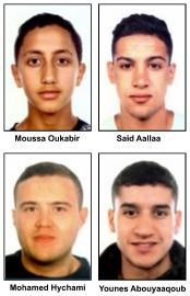 Quatre des suspects des attentats de Barcelone et... (AFP, MOSSOS D'ESQUADRA) - image 3.0