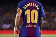 La vedette du FC Barcelone Lionel Messi a... (AFP) - image 3.0