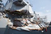 LeUSS Fitzgeralda été endommagé par une collision le... (AFP) - image 5.0
