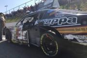 La voiture de Labbé a été lourdemment endommagé... (fournie par l'équipe Go Fas Racing) - image 1.0