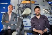 Benoit Simard, directeur du contenu d'Énergie, et Patrice... (PHOTO DAVID BOILY, LA PRESSE) - image 1.0