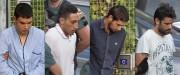 Mohamed Houli Chemlal, Driss Oukabir, Salah El Karib... (Photos AFP) - image 1.0