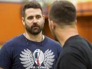 Pierre-Alain Bouffard, le nouvel entraîneur-chef des Faucons de... (Le Soleil, Caroline Grégoire) - image 3.0