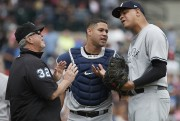 Le receveur Gary Sanchez... (Photo Rick Osentoski, USA TODAY Sports) - image 1.0