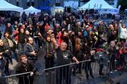 Voici à quoi ressemblait la foule qui a... (Photo Le Progrès, Rocket Lavoie) - image 1.0