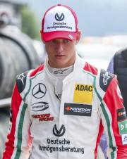 Le fils de Michael Schumacher, Mick, a effectué... (AFP, Stéphanie Lecocq) - image 3.0