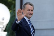 Seamus O'Regan à son arrivée à Rideau Hall.... (Photo Chris Wattie, REUTERS) - image 1.0