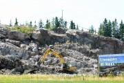 L'immense terrain où était situé autrefois le Vio... (Photo Le Quotidien, Michel Tremblay) - image 2.0