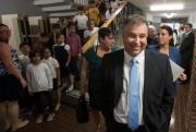 Le ministre de l'Éducation, Sébastien Proulx, a visité,... (PHOTO IVANOH DEMERS, LA PRESSE) - image 2.0