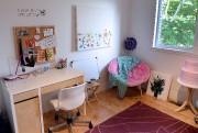 Le bureau où Frédérique aime recevoir ses copines.... (Photo Erick Labbé, Le Soleil) - image 2.0