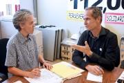Le chef du Parti des citoyens de Saguenay... (Photo Le Quotidien, Rocket Lavoie) - image 2.0