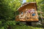Une maisonnette du Camping et cabines du Sommet... (tirée de Facebook) - image 5.0