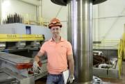 Raphaël Émond, ingénieur de projet chez Hydro-Saguenay, division... (Photo Le Quotidien, Jeannot Lévesque) - image 2.1