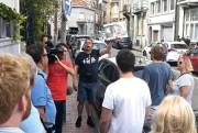 Balade à pied dans les rues de la... (Photo Jean-Christophe Laurence, collaboration spéciale) - image 3.0