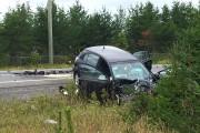 L'accident s'est produit à Saint-Ambroise vers 10h.... (Le Progrès, Gimmy Desbiens) - image 1.0