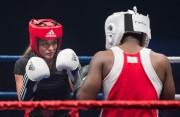 La ministre Mélanie Joly pendant son combat contre... (Photo Graham Hughes, La Presse canadienne) - image 1.0
