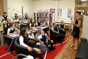 Dans la classe d'Émilie Bachand, les élèves de... (Janick marois) - image 1.0