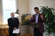 Le maire de Marieville, Gilles Delorme, et Pascal... (Janick Marois, La Voix de l'Est) - image 1.0