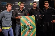 Rigoberto Urán, Peter Sagan, Tom Dumoulin et Greg... (Photo Erick Labbé, Le Soleil) - image 1.0