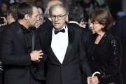Mathieu Kassovitz, Jean-Louis Trintignant et sa femme Marianne... (AFP, Alberto Pizzoli) - image 3.0