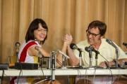Emma Stone et Steve Carell dans Battle of... (AP) - image 2.0