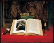 Nature morte au livre ouvert, 1894, Ozias Leduc,... (Photo MBAM-Denis Farley,fournie par le Musée d'art de Joliette) - image 3.0