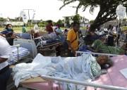 Plus de 200 personnes ont été blessées par... (PHOTO Luis Alberto Cruz, AP) - image 1.1
