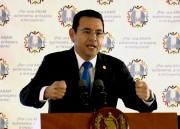 Le président guatémaltèque Jimmy Morales... (AFP, Johan Ordonez) - image 5.0