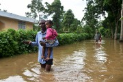 À Haïti, de nombreux habitants sont victimes d'inondations... (AFP, HECTOR RETAMAL) - image 3.0