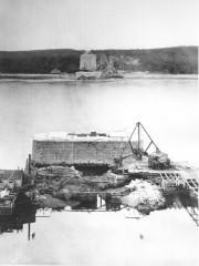 L'écart entre les piliers du pont de Québec... (Archives Le Soleil) - image 5.0