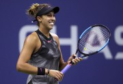 Dans une finale toute Américaine, Madison Keys (photo)... (AFP, Matthew Stockman) - image 3.0