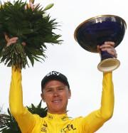 Chris Froome a remporté le Tour de France... (AP) - image 2.0