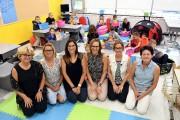 Les enseignantes de deuxième année Maryse Boulianne, Caroline... (Le Quotidien, Rocket Lavoie) - image 1.0