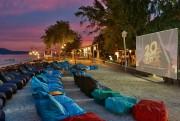 Des films sont projetés sur la plage à... (PHOTO FOURNIE PAR L'HÔTEL DAILY) - image 6.0