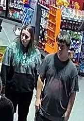 Deux individus sont recherchés après avoir mis en... (Photo fournie par le SPS) - image 1.0