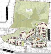 Les six hectares situés à l'est du projet... (Plan fourni par la Ville de Sherbrooke) - image 1.0