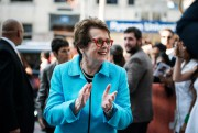 L'ancienne joueuse de tennis Billie Jean King a assisté... (Photo Christopher Katsarov, La presse canadienne ) - image 2.0