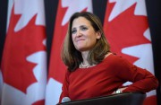 Chrystia Freeland, ministre des Affaires étrangères... (PHOTO Sean Kilpatrick, ARCHIVES LA PRESSE CANADIENNE) - image 1.0