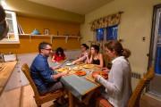 Chez les Grondin, le fait d'avoir une végétarienne... (Photo Olivier Jean, La Presse) - image 2.0