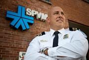 Gaétan Vaillancourt, commandant du Service de police de... (PhotoPATRICK SANFAÇON, La Presse) - image 1.0