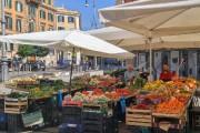 Le marché du Trastevere... (Photo Geneviève Décarie-Landry, collaboration spéciale) - image 1.0