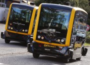Deux Robo-Taxis autonomes de l'équipementier automobile Continental, au... - image 1.0