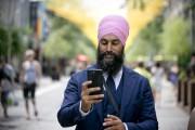 Jagmeet Singh à Montréal le 21 juillet.... (PHOTO DAVID BOILY, LA PRESSE) - image 2.0
