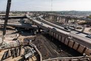 La construction du nouvel échangeur Turcot est un... (PHOTO EDOUARD PLANTE-FRÉCHETTE, ARCHIVES LA PRESSE) - image 1.0