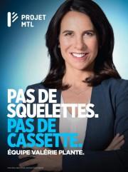 Une pancarte de Projet Montréal... (IMAGE FOURNIE PAR PROJET MONTRÉAL) - image 1.0