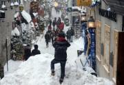 Vive la neige. Par endroits, le Petit Champlain... - image 2.0