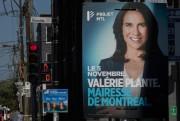 Sans réinventer le genre, les affiches électorales de... (Photo Ivanoh Demers, La Presse) - image 1.0