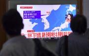 Bulletin télévisé sur le séisme en Corée du... (AFP) - image 2.0