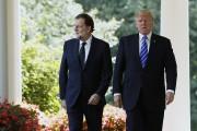 Mariano Rajoy était l'invité de Donald Trump, mardi,... (REUTERS) - image 3.0